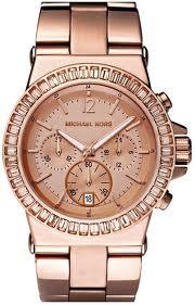 Michael-Kors-Baguette-Bezel-Watch-Rose-Gold